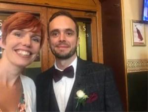 Sussex celebrant Claire Bradford This Morning wedding live Royal Albert Hall