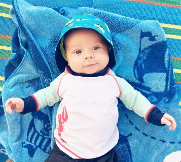isaiah-3-months-beach-towel