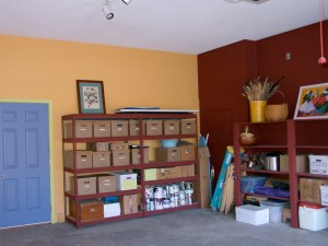 Joy Overstreet Feng Shui garage makeover