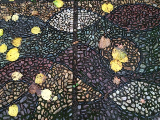 Parking strip mosaic - NW Portland