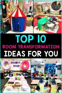 classroom transformation ideas