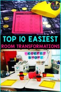 easy classroom transformations