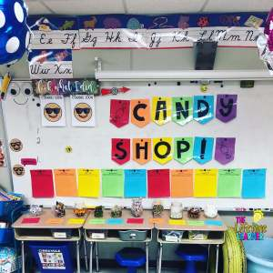 back to school classroom transformations candy shop