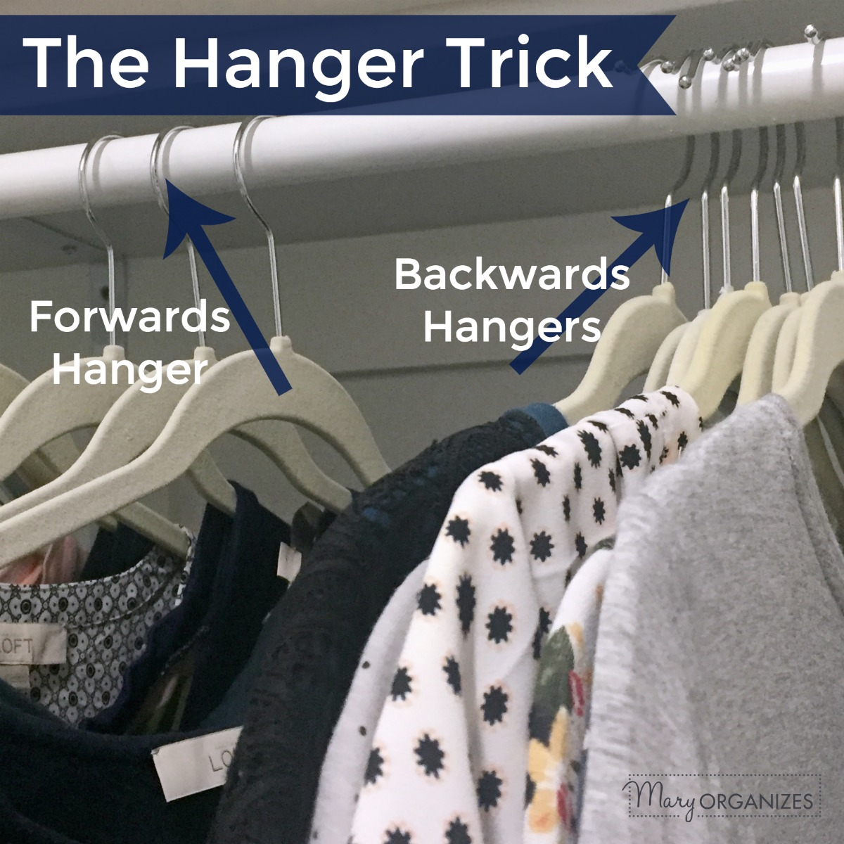 The Hanger Trick - Slim Down Your Closet Easily -s