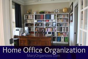 Home Office Organization: The Reveal