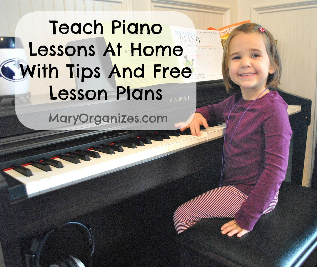 How To Teach Piano Lessons At Home With Free Piano Lesson