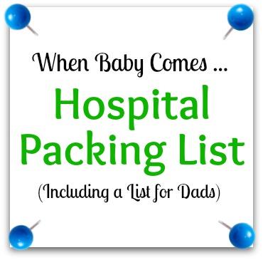 C-Section Hospital Bag Packing List - creatingmaryshome.com