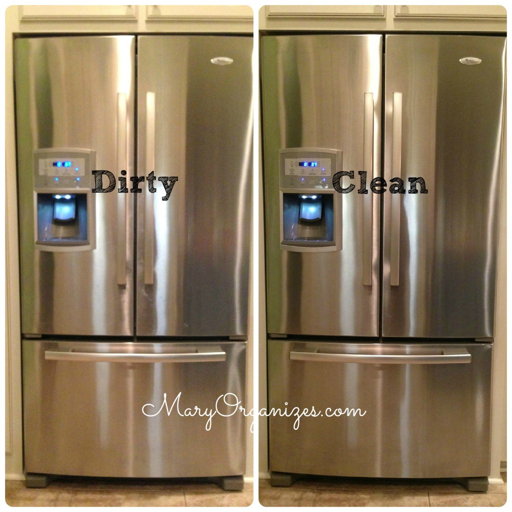 How I Clean My Stainless Steel Appliances - creatingmaryshome.com