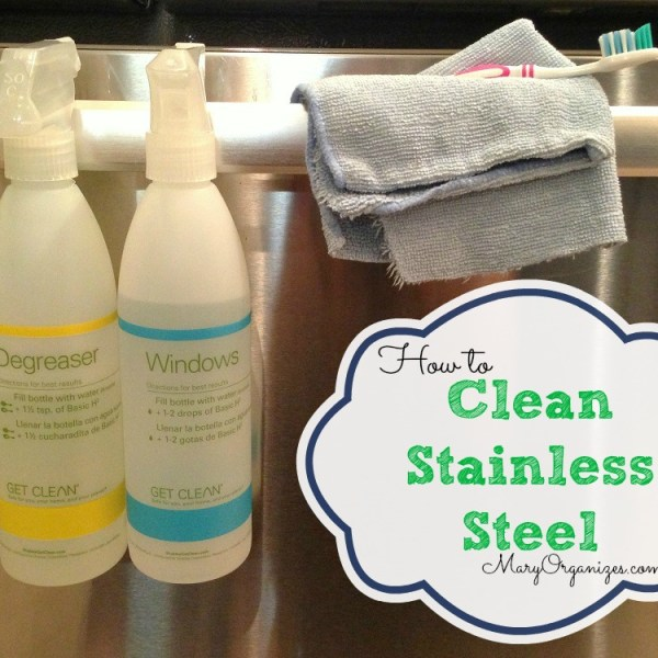 How I Clean My Stainless Steel Appliances