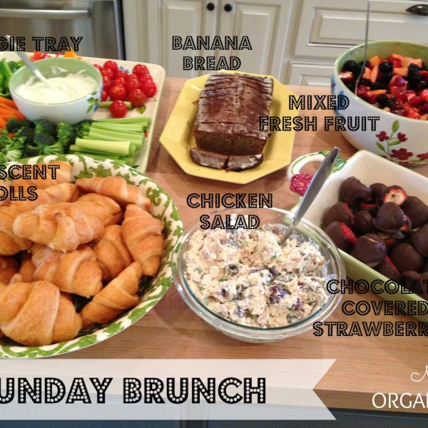 Sunday Brunch Menu