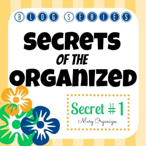 Secrets of the Organized – Secret #1 {Series}