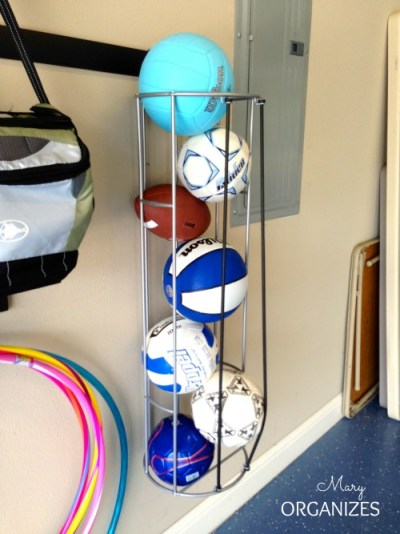 The best way to store balls ever