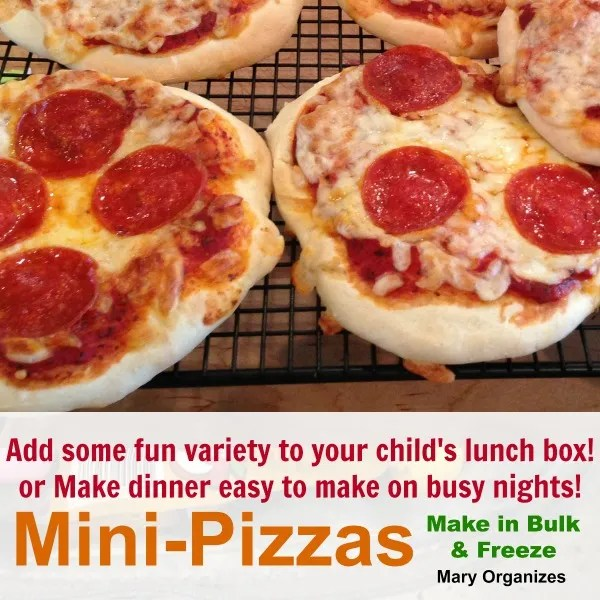 Mini-Pizzas are the best things ever