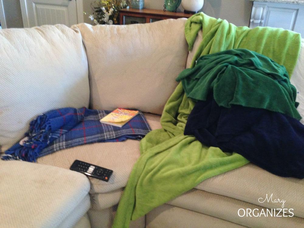 A big blanket mess