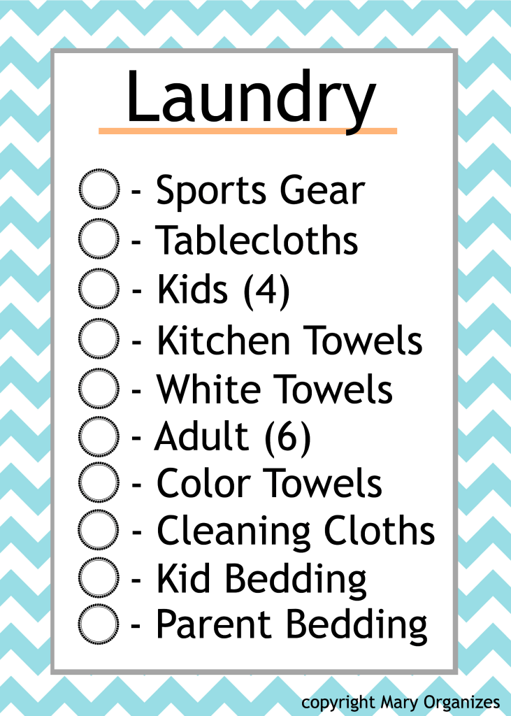 Laundry Schedule _MO