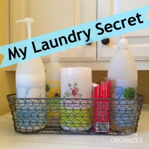 My Laundry Secret!