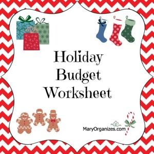 Seasonal Budget FREE Printable {Holiday Guide}