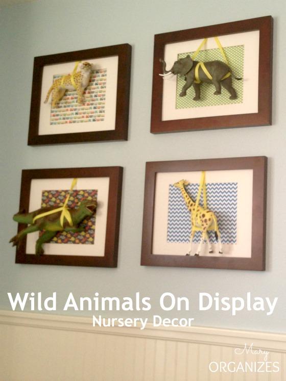 Wild Animals On Display - Nursery Decor that comes alive