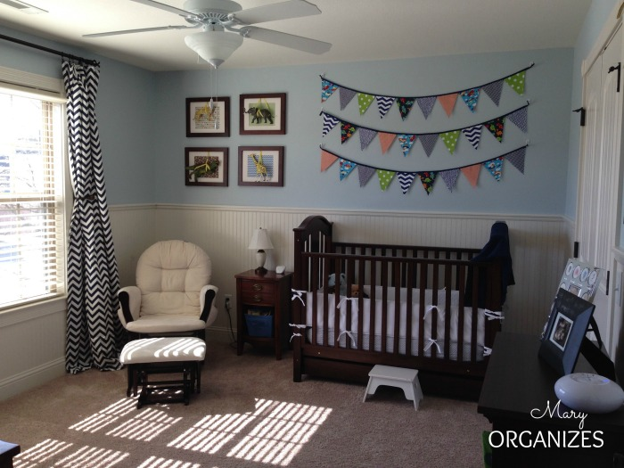 Cougars Nursery - crib view