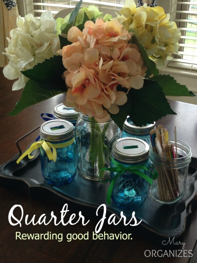 Quarter Jars - Rewarding good behavior