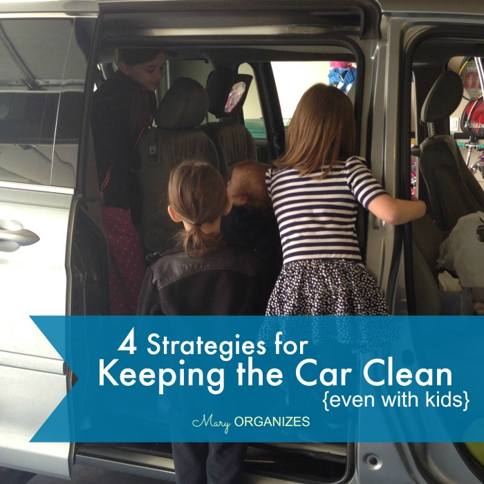 4 Strategies for Keeping the Car Clean