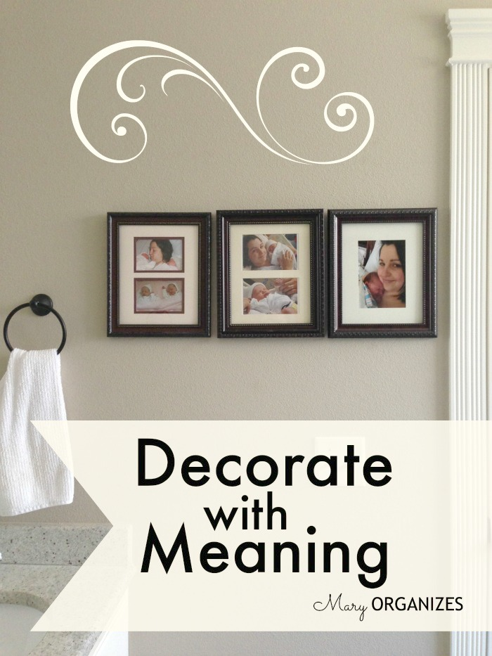 Decorate With Meaning - creatingmaryshome.com