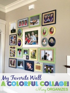 Collage Wall – REVEAL!!!