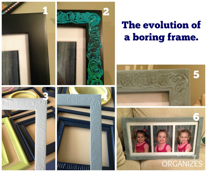 The evolution of a boring frame