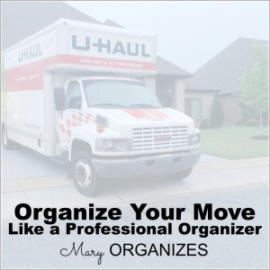 Organize Your Move Like A Professional Organizer {FREE Printable}