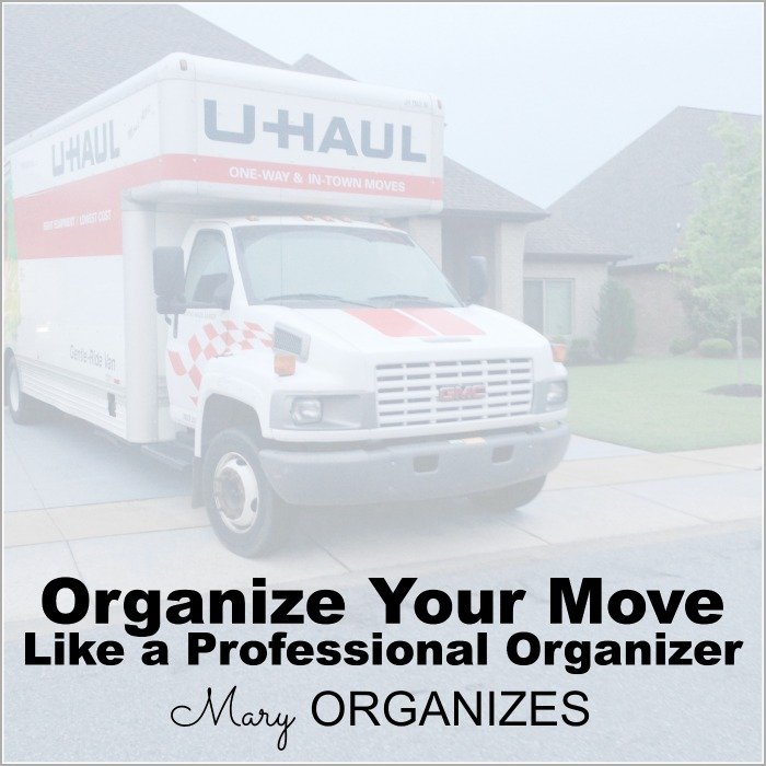 Organize Your Move Like a Professional Organizer