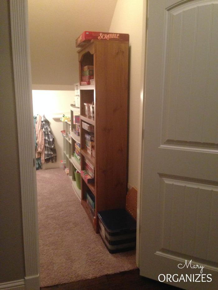 Organizing The Closet Under The Stairs Creatingmaryshome Com