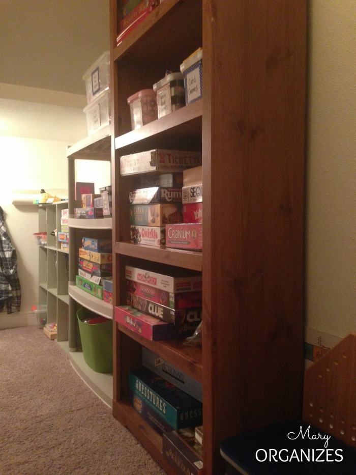 AFTER - The shelves are easy