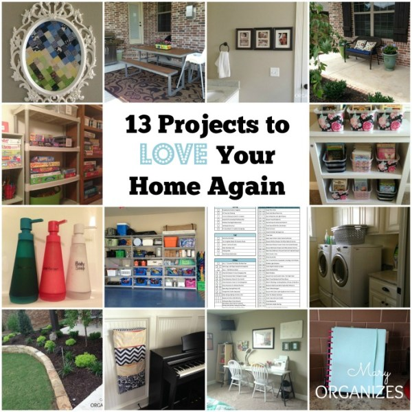 13 Projects to Love Home Again