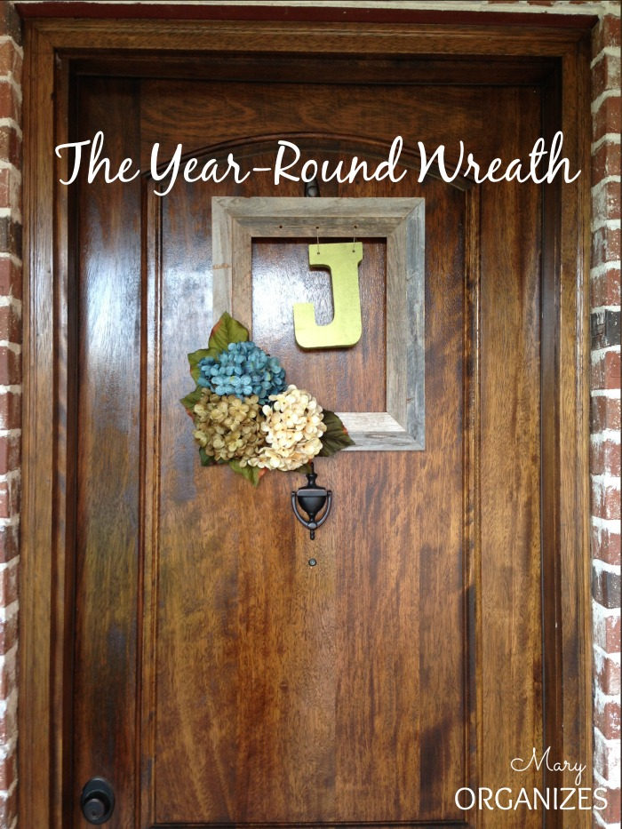 The Wreath that works Year-Round