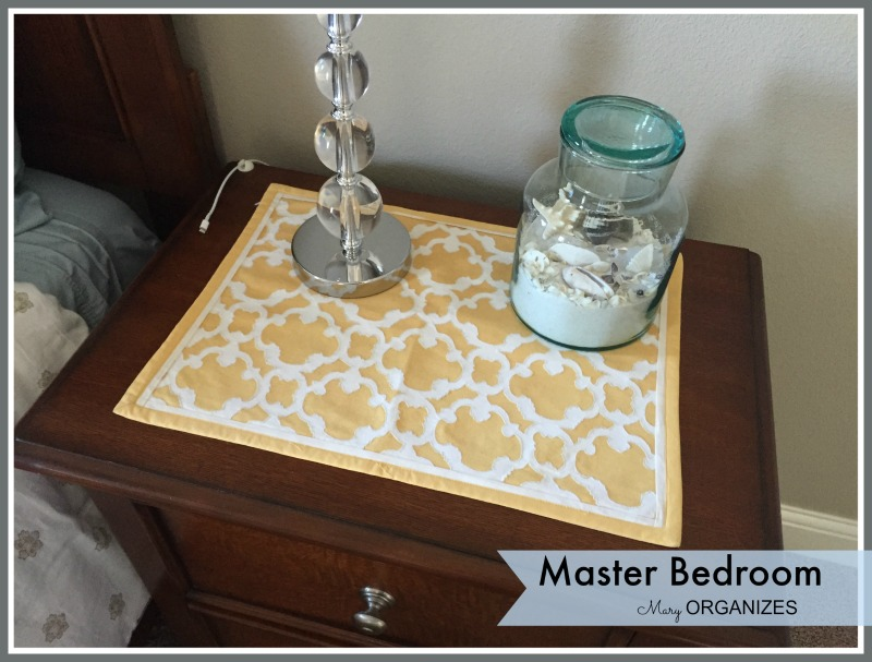 Mary ORGANIZES - Master Bedroom Tour 1