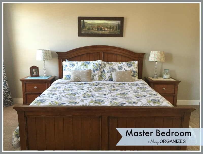 Mary ORGANIZES - Master Bedroom Tour 2