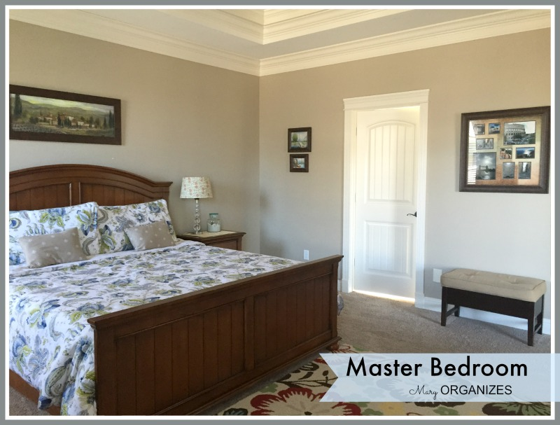 Mary ORGANIZES - Master Bedroom Tour 5