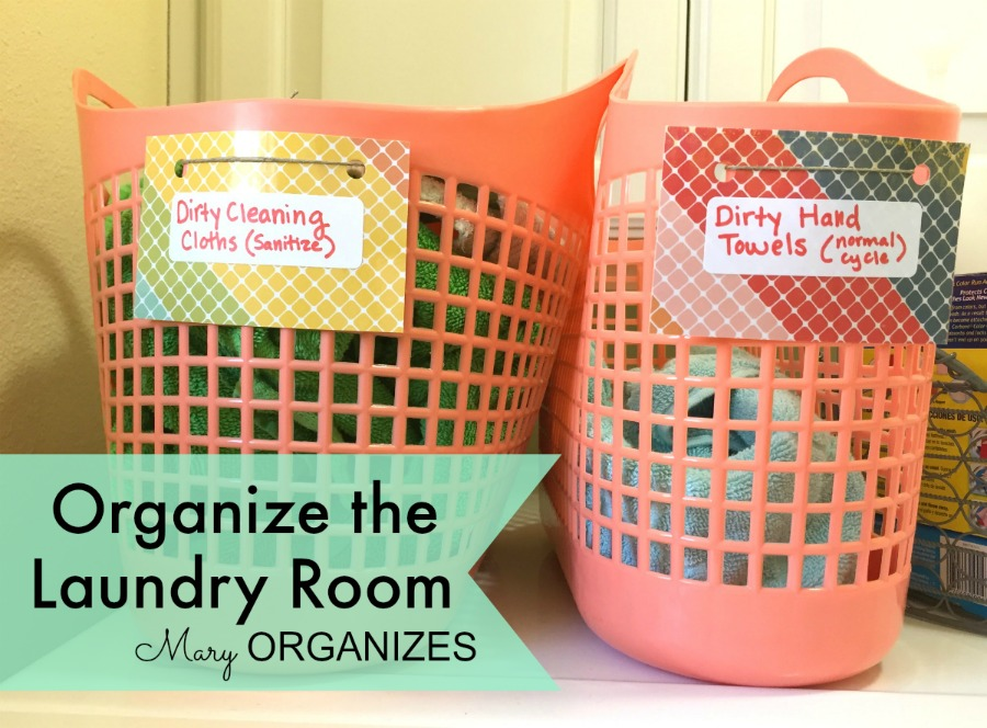 Mary Organizes - Organize the Laundry Room - 11