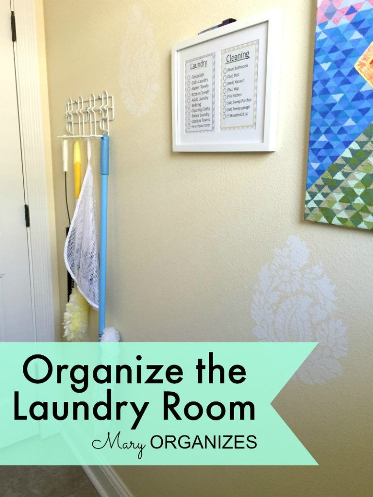 Mary Organizes - Organize the Laundry Room - 3