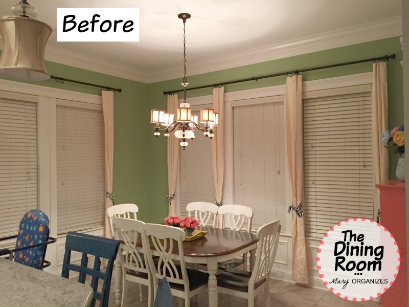 The Dining Room - BEFORE