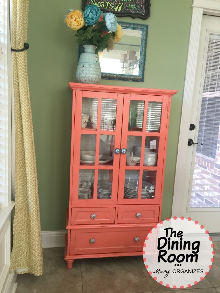 The Dining Room - My Coral Cabinet