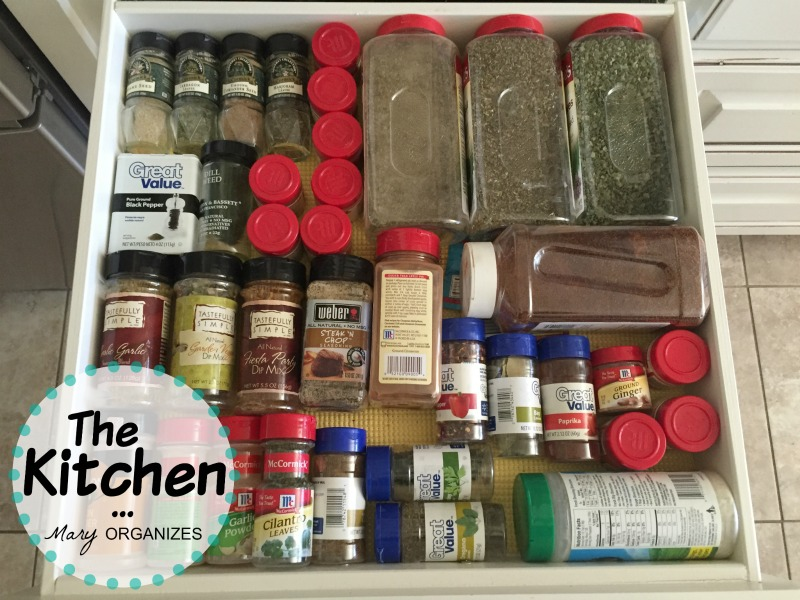 The Kitchen - Spice Drawer