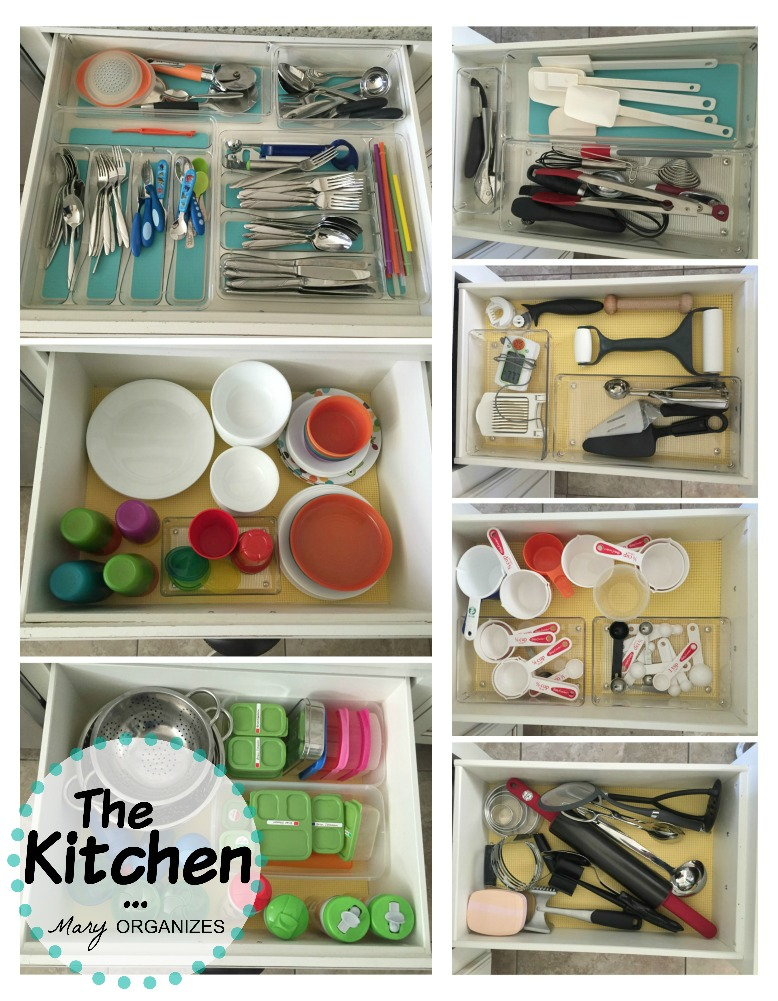 The Kitchen - lots of drawers