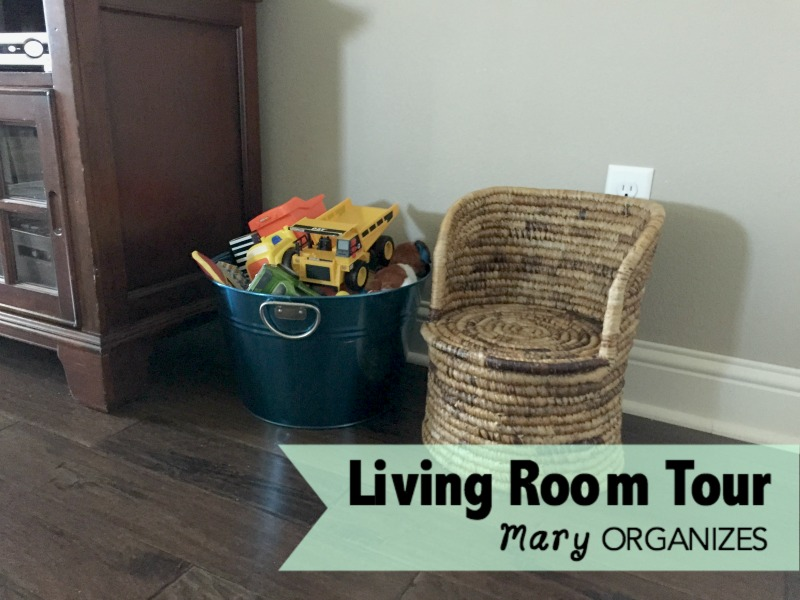 Living Room Tour - Kid Stuff