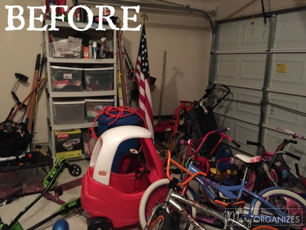 AR Garage Makeover BEFORE 3