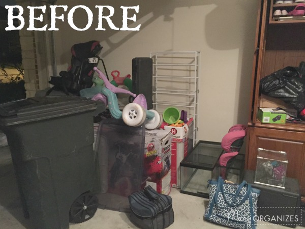 AR Garage Makeover BEFORE 4