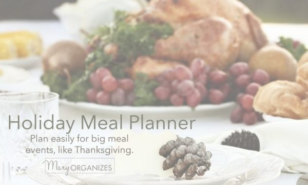 The Holiday Meal Planner
