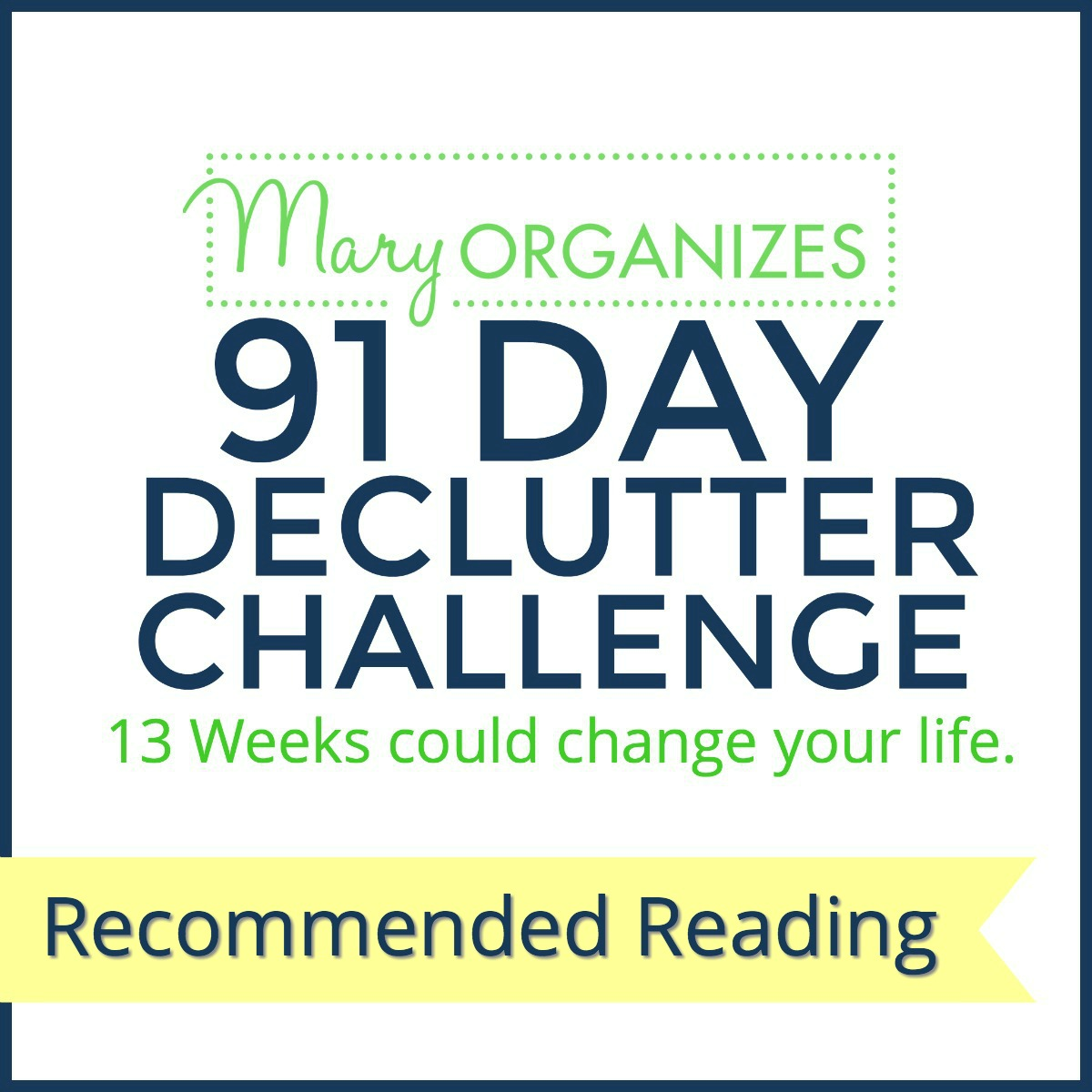 91-day-declutter-challenge-recommended-reading-s