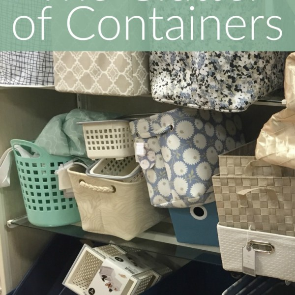 The Clutter of Containers