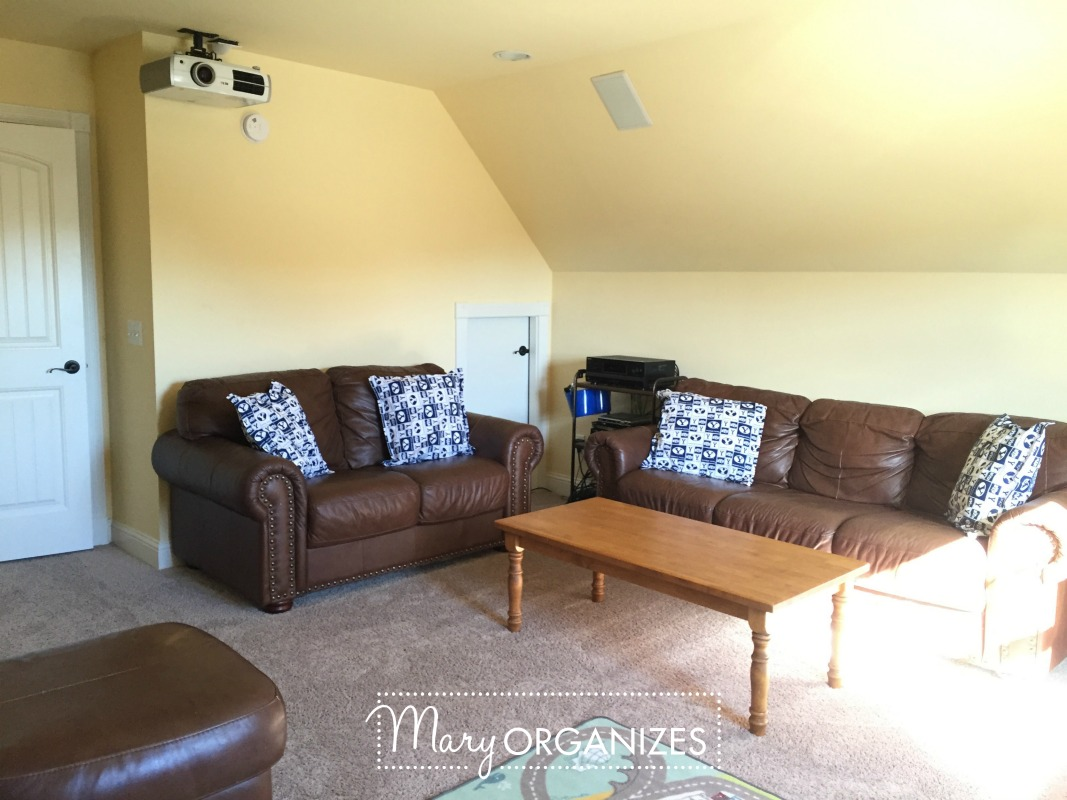 Tour My Playroom Family Room Movie Theatre All In One